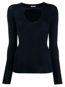P.A.R.O.S.H. key-hole detail sweater - Blue