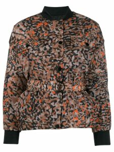 Lala Berlin Animal Noise reversible jacket - Multicolour