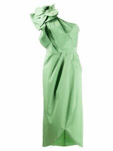 Johanna Ortiz Persian Opulence one-shoulder dress - Green