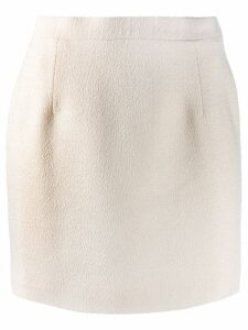 Alessandra Rich fitted midi skirt - NEUTRALS
