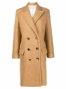 Marni double-breasted pea coatdouble - Neutrals