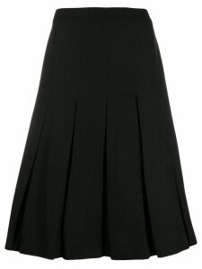 Simone Rocha pleated skirt - Black