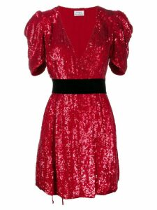P.A.R.O.S.H. sequin mini dress - Red