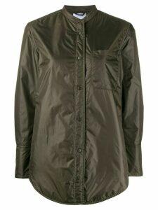 Aspesi band collar jacket - Green