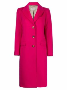Alberto Biani single breasted coat - Pink