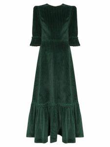 The Vampire's Wife corduroy maxi dress - Green