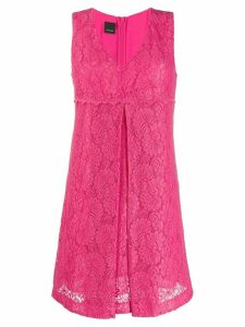 Pinko V-neck lace dress