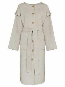 Rejina Pyo simone belted wool coat - Grey