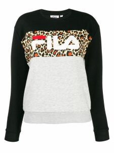 Fila Leah crew-neck sweatshirt - Black