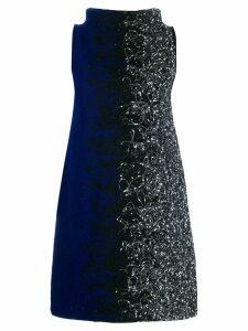 Pierantoniogaspari colour contrast shift dress - Black