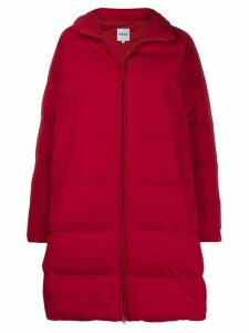 Aspesi zip padded coat - Red