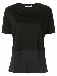 Knott deconstructed T-shirt - Black