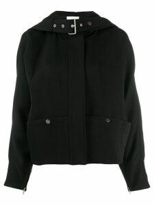 3.1 Phillip Lim buckle hooded jacket - Black