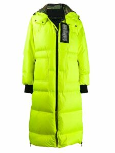 Philipp Plein Space Plein coat - Yellow