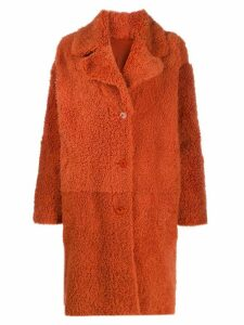 Drome reversible coat - ORANGE