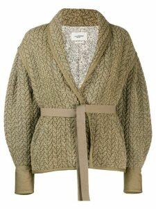 Isabel Marant Étoile Frany knitted jacket - Neutrals