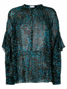 Lala Berlin printed Blythe blouse - Blue
