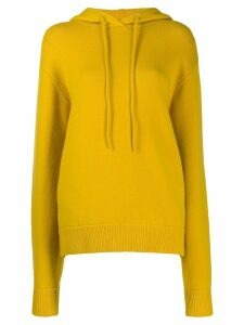 Extreme Cashmere Nº90 be cool hoodie - Yellow