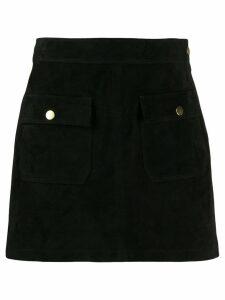 FRAME Bardot mini skirt - Black