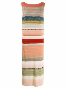 Missoni sleeveless striped dress - Pink