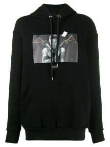 Throwback. 2001 Lara Croft hoodie - Black