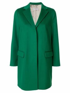 Alberto Biani single breasted coat - Green