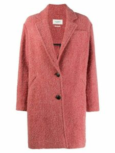 Isabel Marant Étoile Dante single breasted coat - PINK