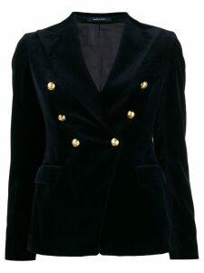 Tagliatore Alicya velvet blazer - Blue