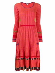 Kenzo ribbed midi dress - Red