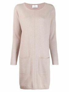 Allude cashmere jumper dress - Pink