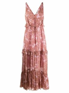 Diane von Furstenberg Misha long dress - Pink