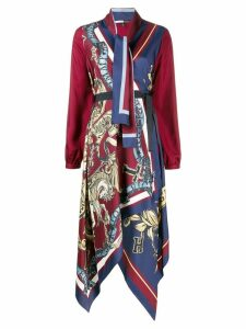 Tommy Hilfiger scarf dress - Red