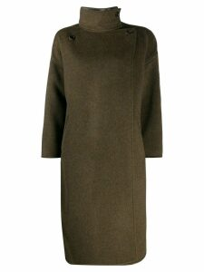 Isabel Marant Relton wrap coat - Green