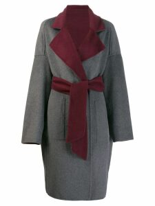 Karl Lagerfeld reversible wrap coat - Green