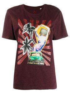A.F.Vandevorst patchwork print T-shirt - Purple