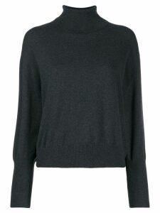 Brunello Cucinelli turtle neck jumper - Grey