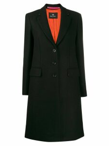 PS Paul Smith single breasted coat - Black