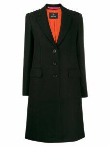 PS Paul Smith single breasted coat - Black