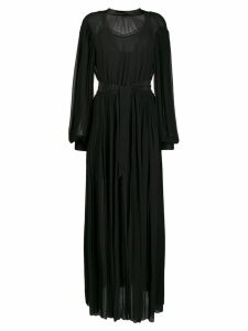 Karl Lagerfeld pleated shirt dress - Black
