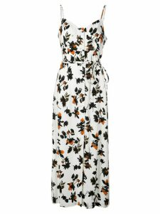 Derek Lam floral maxi dress - White