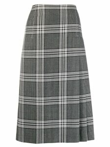 Marni plaid skirt - Grey