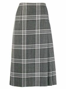 Marni plaid skirt - Grey