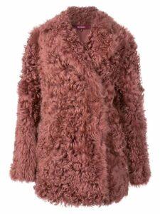 Sies Marjan Pippa Tigrado peacoat - Pink