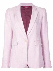 Sies Marjan Mason stretch lurex blazer - PINK