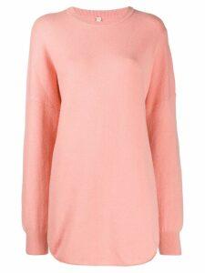Extreme Cashmere Nº53 crew neck jumper - Pink