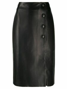 Drome button-up midi skirt - Black