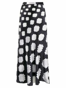 Marni geometric print skirt - Black