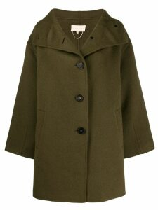 Vanessa Bruno oversized single-breasted coat - Green