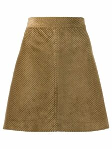 Vanessa Bruno ribbed high-waisted skirt - Green