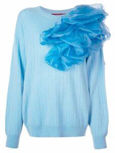 Sies Marjan Awa poof detail jumper - Blue